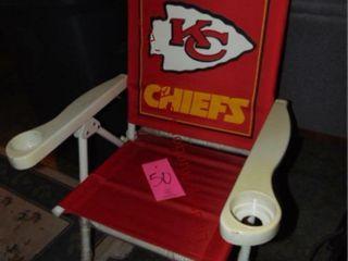 KC Chiefs folding chair