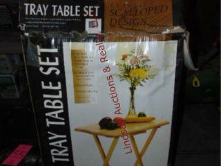Set of tv trays