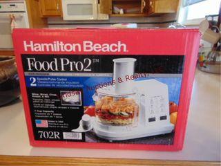 Hamilton Beach food pro2