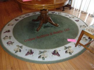 96  round area rug