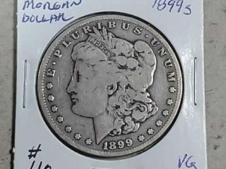 1899 S Morgan Dollar VG