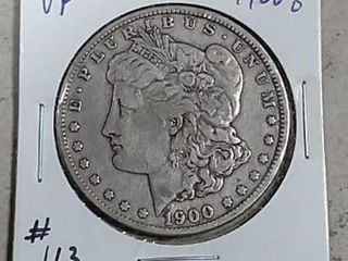 1900 O Morgan Dollar VF