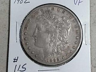 1902 Morgan Dollar VF
