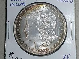 1902 O Morgan Dollar XF