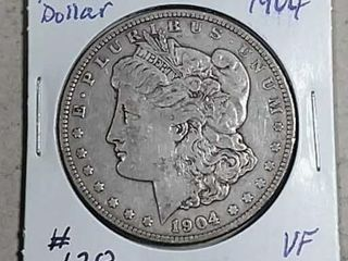 1904 Morgan Dollar VF