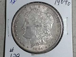 1904 O Morgan Dollar XF