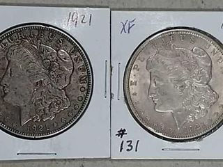 1921   1921 Morgan Dollars XF