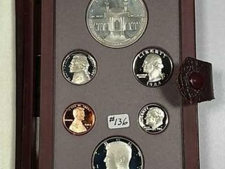 1984 S US  Mint Prestige set COA no box