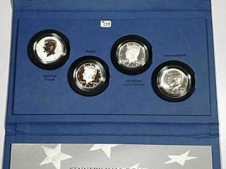 2014 50th Anniversary Kennedy Half Dollar set