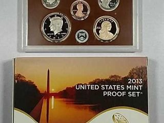 2013 US  Mint Proof set