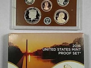 2016 US  Mint Proof set