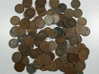 110 Indian Head Cents Assorted dates