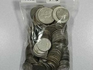 20 75 Face value Canadian 80  silver coins