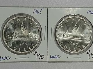 1965   1965 Canadian Dollars Unc