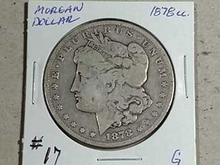 1878 CC Morgan Dollar G