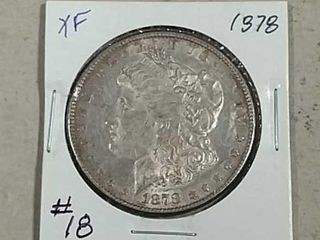 1878 Morgan Dollar XF