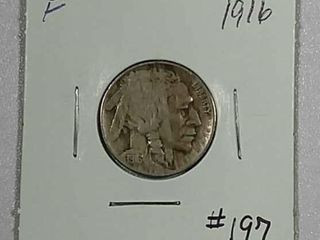 1916 Buffalo Nickel F