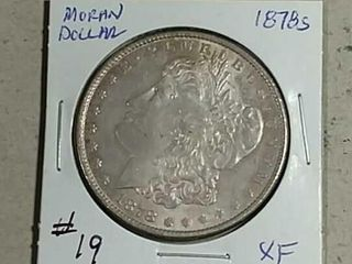 1878 S Morgan Dollar XF