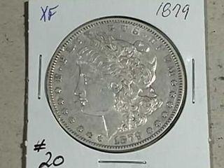 1879 Morgan Dollar XF