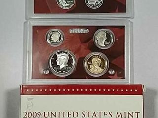 2009 US  Mint Silver Proof set
