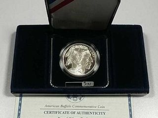 2001 P American Buffalo Comm  Silver Dollar Proof