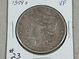 1879 S Morgan Dollar VF