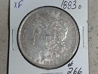 1883 O Morgan Dollar XF