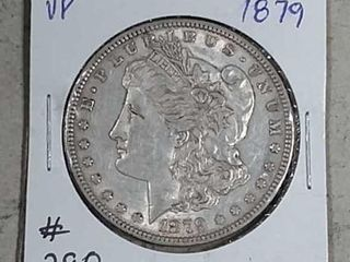 1879 Morgan Dollar VF