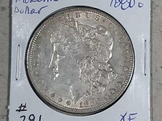 1880 O Morgan Dollar XF
