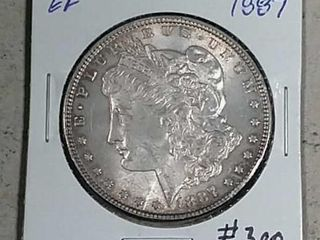 1887 Morgan Dollar EF