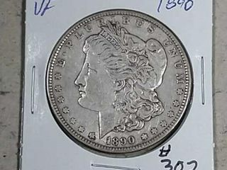 1890 Morgan Dollar VF