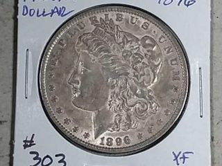 1896 Morgan Dollar XF