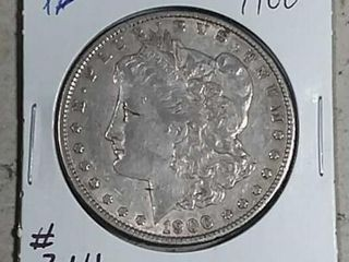 1900 Morgan Dollar XF