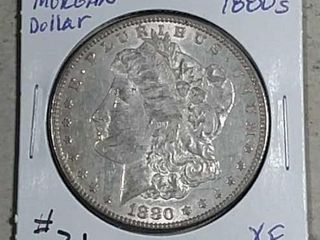 1880 S Morgan Dollar XF