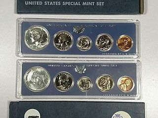 1966   1967 US  Mint Special Mint sets