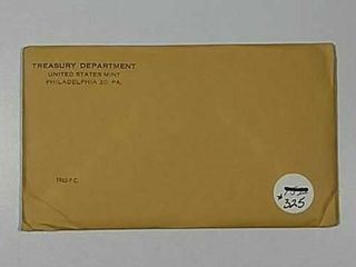 1962 US  Mint Proof set sealed envelope