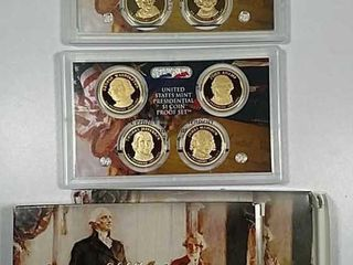 2007   2008 US  Mint Presidential  1 Proof sets