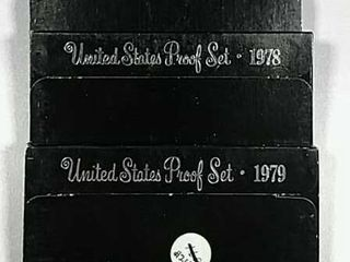 1977  1978   1979 US  Mint Proof sets