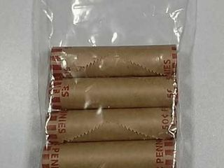 5 BU rolls 2009 lincoln Cents mixed reverse
