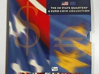50 State Quarters   Euro Coin Collection