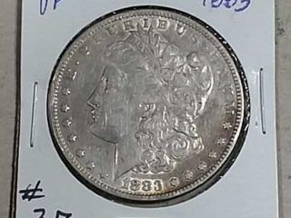 1883 Morgan Dollar VF