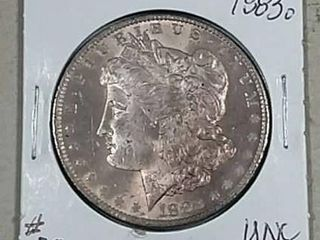 1883 O Morgan Dollar Unc