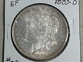 1883 O Morgan Dollar EF