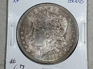 1888 O Morgan Dollar XF