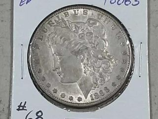 1888 S Morgan Dollar EF