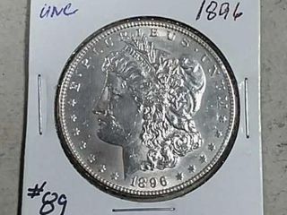 1896 Morgan Dollar Unc
