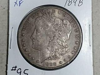 1898 Morgan Dollar XF