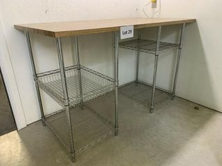 Stainless Steel Shelves   Table Top
