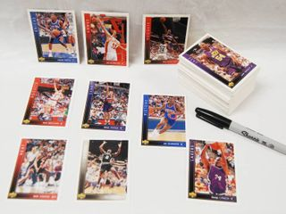 Collection of Basketball Cards   Boston Celtics  Portland Trail Blazzers  and More  See Photos