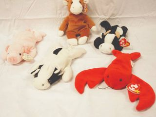 lot of Collectible Ty Beanie Babies  See Photos